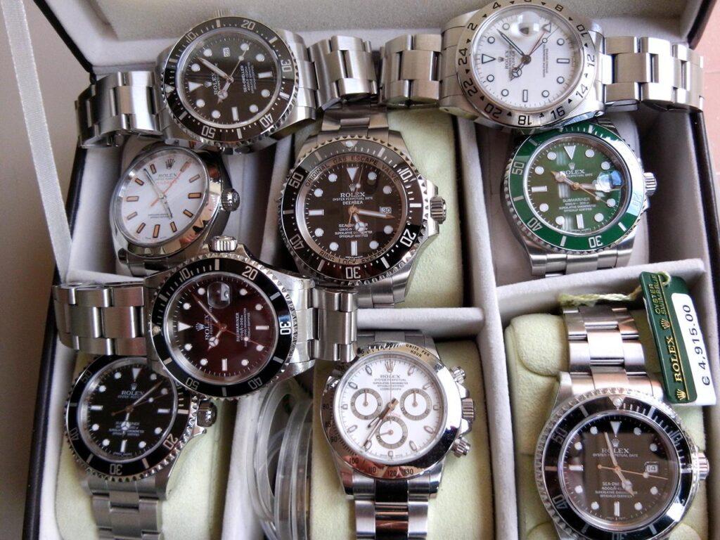 compro orologi di lusso a Roma