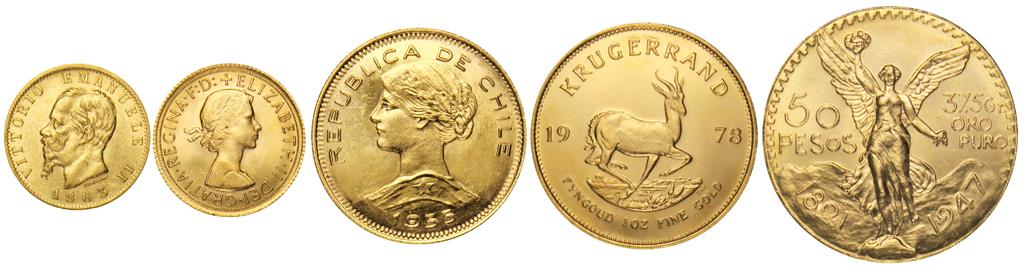 compro monete d'oro a Roma